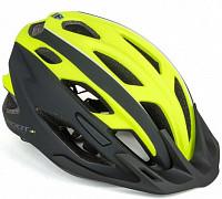 Купить Шлем 8-9001448 спорт. 2 козырька Root 173 21отв. INMOLD/EPS/поликарб. желто-черный 53-59см AUTHOR - СКИДКА 5%., И-0053212