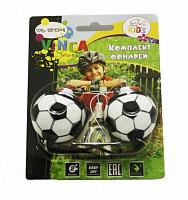 Купить Фонари VL 178-1 футбольный мяч , 1 яркий диод, 2 реж. Работы, инд.уп.Vinca Sport., И-0049143