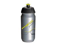 Купить Фляга 6 100% биопластик. AB-Tcx-Shiva X9 0.6л серебристо-неоновая TACX/AUTHOR (Голландия) - СКИДКА 23%., И-0066191