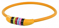 Купить Замок велосипедный противоугонный DS 12.6,5 оранжевый M-WAVE кодовый - СКИДКА 12%., И-0046748