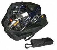 Купить Чехол-тент для переноски складного велосипеда (колеса 20 ) Габариты:78x61х32см вес 0,8 кг 10-003 - СКИДКА 18%., И-0016952