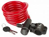 Купить Замок велосипедный противоугонный S 10.18 красный M-WAVE - СКИДКА 21%., И-0036296