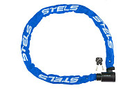 Купить Велозамок цепь на ключе 85803 6x1200mm Blue Chain., И-0019041