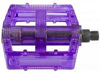 Купить Педали M-Wave поликарбонатные BMX широкие ось Cr-Mo фиолетовые 5-311389 - СКИДКА 20%., И-0049086