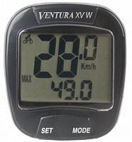Купить Велокомп. 5-244367 15 ф-ций беспровод. счетчик калорий черный (20) VENTURA XV W - СКИДКА 19%., И-0050436