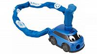 Купить Велозамок ABUS цепь 4мм, ключ, Полицейская машина Department 1510/60см, 280гр, синий - СКИДКА 13%., И-0074897