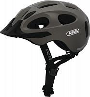 Купить Шлем Youn-I-Ace с LED фонариком, M(52-57см) регулир., 270гр, 17 отв, сетка от насекомых, серый металлик ABUS., И-0075754