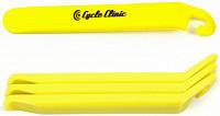 Купить Монтировки 8-10091110 пластиковые CC TL4 эргоном. с крючками (3шт) желтые (50) AUTHOR - СКИДКА 17%., И-0037299