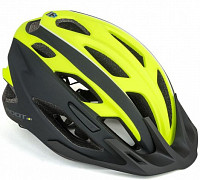 Купить Шлем 8-9001449 спорт. 2 козырька Root 173 21отв. INMOLD/EPS/поликарб. желто-черный 59-61см AUTHOR - СКИДКА 5%., И-0053213