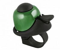 Купить Звонок 5-420145 алюм./пластик мини D=36мм громкий и долгий звук ЗЕЛЕНЫЙ M-WAVE - СКИДКА 12%., И-0037270