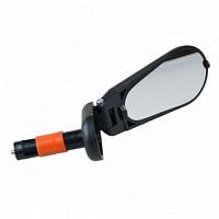 Купить Зеркало Green Cycle GMR-428 складное крепление в торец руля., И-0060844