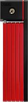Купить Велозамок ABUS складной, ключ, Bordo uGrip 5700/80см с кроншт, класс защиты 7/15, 830гр, красный - СКИДКА 12%., И-0074907