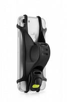 Купить Держатель для смартфона 07-171010 силиконовый на руль универсальн. 4.0-6.0 BIKE TIE X черный BONE - СКИДКА 15%., И-0060492