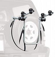 Купить Автобагажник на запаску Peruzzo BIKE CARRIER 4x4, для 2 в-дов весом до 15кг, серый - СКИДКА 14%., И-0054627