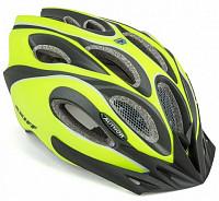 Купить Шлем 8-9001268 спорт. с сеточкой Skiff 171 14отв. INMOLD неоново-желто-черный 58-62см (10) AUTHOR - СКИДКА 4%., И-0053205