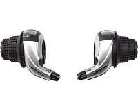 Купить Шифтер Shimano TOURNEY RS45, лев/пр, 3x8ск, тр.+оплетк ESLRS45P8A., И-0034721