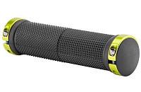 Купить Грипсы STELS XH-G59BL 130mm Black/Green., И-0049609