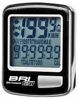 Купить Велокомпьютер STELS BRI-12W black 12 функций - СКИДКА 16%., И-0018282