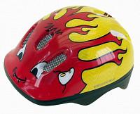 Купить Шлем .детский/подростк. 5-734040 с сеточкой 6отв. 50-57см LITTLE DEVIL/красно-желтый (10) VENTURA - СКИДКА 13%., И-000003491