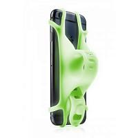 Купить Держатель для смартфона BONE BIKE TIE 2 силиконовый на руль универсальный 4.0'-6.5' люминесцентный зеленый - СКИДКА 19%., И-0070717
