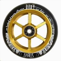 Купить Колесо для трюкового самоката 120мм TECH TEAM 6ST Street Dady., И-0060005