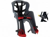 Купить BELLELLI Сидение переднее Tatoo HandleFix, тёмно-серое - СКИДКА 7%., И-0054752