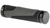 Купить Грипсы VELO VLG-776AD3 Anti-Slip130мм с хомутами, черные, лого., И-0059360