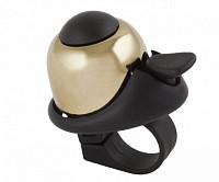 Купить Звонок алюминиевый/пластик мини D=36мм громкий и долгий звук золотистый (на блистере) M-WAVE., И-0050168