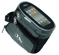 Купить Сумочка/чехол+бокс 5-122376 на раму д/смартфона 160х110х130мм 2бок. кармана влагозащ. черная M-WAVE - СКИДКА 15%., И-0018444