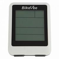 Купить Велокомпьютер BikeVee BKV-9100, беспроводной, 20 функций белый 1CM000000025., И-0043772