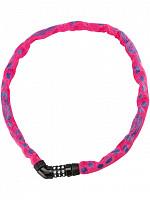 Купить Велозамок кодовый ABUS Steel-O-Chain 5805C/75см цепь 5мм, класс защиты 4/15, 500гр, розовый., И-0074885