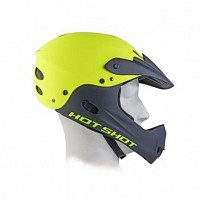 Купить Шлем AUTHOR Freeride/DH/BMX/Enduro FullFace ABS-HARD SHELL суперпрочн. Hot Shot HST X9 191 размер 56-58 неоновый желтый., И-0074615