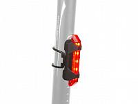 Купить Фонарь 8-12039134 задний 5д./4ф. A-Stake Mini USB красный вертик. прорезин. (20) с батар. AUTHOR - СКИДКА 30%., И-0050422