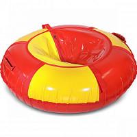 Купить Тюбинг Ватрушка ПВХ Red/yellow (П-120.004) - СКИДКА 50%., И-0074289
