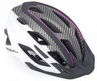 Купить Шлем 8-9001445 спорт 2 козыр. Root 161 ASL 21отв INMOLD/EPS/поликарб розов-бело-черн 59-61см AUTHOR - СКИДКА 8%., И-0050192
