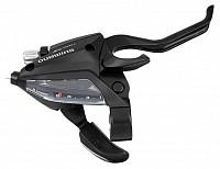 Купить Манетка с тормозной ручкой Shimano Tourney, EF500, правая, 8 скоростей, цвет черный ESTEF5002RV8AL., И-0050779