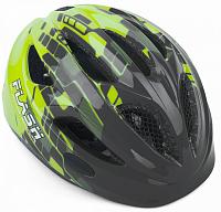 Купить Шлем 8-9090134 Flash Pink/Blu INMOLD детский/подр. СВЕТОД. ФОНАРИК 11отв серо-желтый 51-55см AUTHOR - СКИДКА 15%., И-0052299
