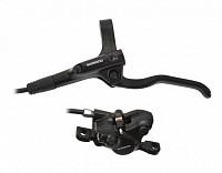 Купить Тормоз дисковый Shimano MT200 гидравлический передний, 1000мм, черный, EMT200KLFPRA100., И-0058214