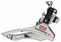 Купить Передний переключатель Shimano Tourney TY10, нижняя тяга, 28.6, 42T, без упаковки AFDTY10DS6 - СКИДКА 10%., И-0068163