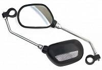 Купить Зеркало пр/левое 110х70мм с креплением на руль JY-102., И-0024760