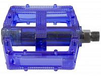 Купить Педали M-Wave поликарбонатные BMX широкие ось Cr-Mo синие 5-311384 - СКИДКА 20%., И-0049084