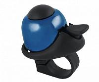 Купить Звонок 5-420144 алюм./пластик мини D=36мм громкий и долгий звук СИНИЙ M-WAVE - СКИДКА 12%., И-0037269