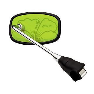 Зеркало Electra Handlebar Mirror Hawaii green 328801