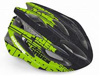 Купить Шлем 8-9001462 спорт. Saber 143 Blk 17отв. INMOLD/EPS/поликарб. черно-зеленый 52-58см(10) AUTHOR - СКИДКА 2%., И-0041830