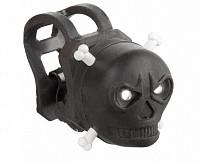 Купить Фонарь 5-220603 маячок передний череп 2д/2ф резин. с батар. черный (40) VENTURA., И-0050416