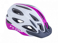 Купить Шлем FLOW X9 192 WHITE/PINK NEON 58-61см AUTHOR - СКИДКА 9%., И-0074593