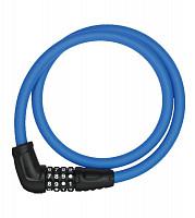 Купить Велозамок тросовый с кодом ABUS Numerino 5412C/85см, трос 12мм, класс защиты 3/15, 300гр, голубой - СКИДКА 14%., И-0074797