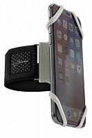 Купить Держатель для смартфона силиконовый на руку универс.4.0-6.5 RUN TIE BONE - СКИДКА 15%., И-0060497