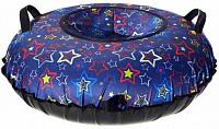Купить Ватрушка Принт Разноцветные звёзды 100см., И-0062633