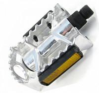 Купить Педали Vinca Sport VP04A алюминиевые серебристые., И-0042414